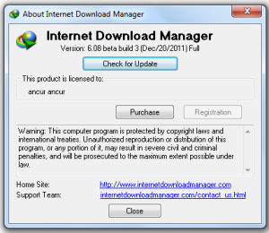 Berhasil Install IDM